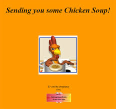 get well soon soup get well incredimail letters e cards