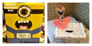 olaf frozen minion valentine u0027s box tutorials