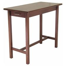 casual home kitchen island with solid americana hardwood top