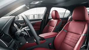 lexus is350 f sport seats 2018 lexus gs luxury sedan comfort u0026 design lexus com
