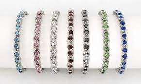 bracelet crystal tennis images Swarovski crystals tennis bracelet jpg