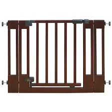 wood safety gate extending wood baby gate child gate wooden baby