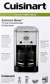 Extreme Toaster Cuisinart Premier Coffee Series Extreme Brew 12 Cup Programmable