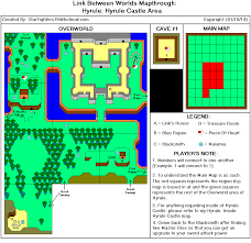 The Legend Of Zelda A Link Between Worlds Map by The Legend Of Zelda A Link Between Worlds Hyrule Hyrule Castle