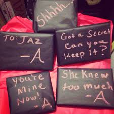used chalkboard paper u0026 added quotes to my daughters gifts pretty