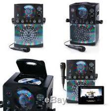 karaoke machine with disco lights cdg karaoke machine system with 2 microphone bluetooth disco light 2