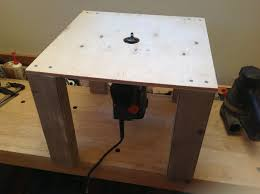 Building A Router Table by Simple Router Table 3 Steps