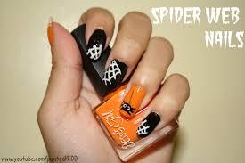 50 most beautiful spider web halloween nail art designs halloween