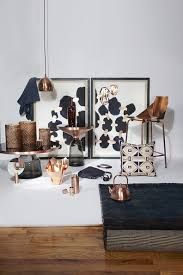 copper room decor copper and navy photos design ideas remodel and decor lonny