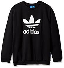 adidas sweater adidas originals s trefoil sweatshirt at amazon s