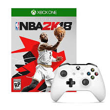 xbox one controller seahawks xbox one white wireless controller with nba 2k18 game 8564717 hsn