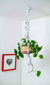 Home Decor Parties Recycled Hanging Planter In Crafts For Decorating And Home Decor