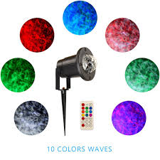 christmas unique ocean wave light projector with high brightness