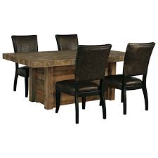 Bradford Dining Room Furniture Collection by Signature Design By Ashley Sommerford 5 Piece Rectangular Dining