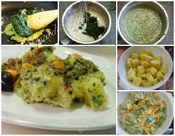 recette de cuisine alg駻ienne gratins gratin de pommes de terre a la creme d epinards recettes du