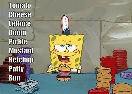 Spongebob Krabby Patty Meme - krabby patty inconsistency album on imgur