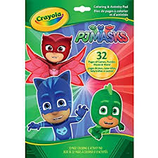 amazon crayola pj masks color sticker book office products