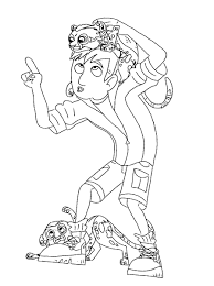 wild kratts coloring pages olegandreev me