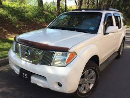 nissan pathfinder running boards nissan pathfinder le suv in georgia for sale used cars on