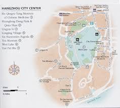 China Train Map by Hangzhou Attraction Map Hangzhou Maps China Tour Advisors