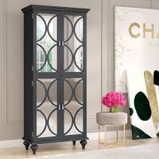 Metal Bar Cabinet Willa Arlo Interiors Ingram Mirrored Wine Bar Cabinet