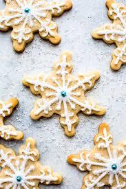 snowflake sugar cookies snowman sugar cookies sallys baking addiction