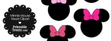 mouse head black white clipart
