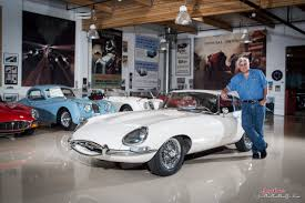 coolest cars in jay leno s garage business insider jay leno s garage jaguar e type