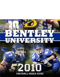 bentley university athletics logo 2010 bentley university football media guide by lipe issuu