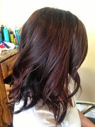 partial red highlights on dark brown hair best 25 mahogany highlights ideas on pinterest dark brown