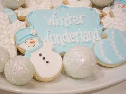winter cookies shake bake and party