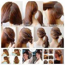 60 hair styles 60 simple diy hairstyles for busy mornings