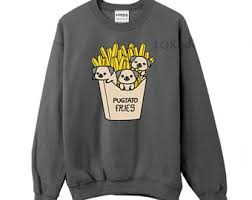 pug sweater pug sweater etsy