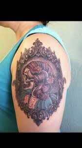 neo traditional cameo tattoos google search tatspiration