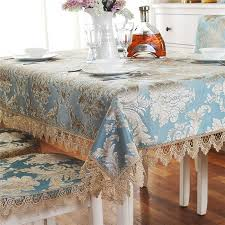 lace chair covers get afford luxury blue big jacquard lace dining table linens chair