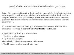 Sample Resume Dentist by Dental Administrative Assistant