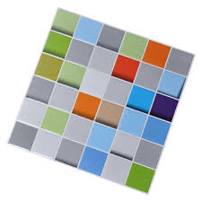 vinyl peel and stick decorative backsplash kitchen tile color