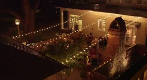 Backyard String Lighting by Patio String Lighting Cleveland Oh