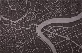 urban fabric city map rug by four o nine furniture pinterest