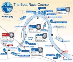 Race Map Boat Race Map Reside In London Reside In London