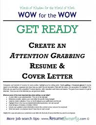 sample of cover letter for resume how to create cover letter for resume free resume example and attention grabbing resume cover letter job search skills resume butterfly get ready
