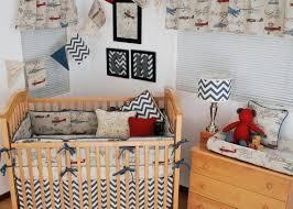 Vintage Aviator Crib Bedding Plane Baby Bedding Animal Friends Crib Bedding Set Vintage