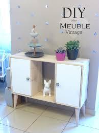 Un meuble au style nordique vintage Tuto Inside Lulubidouille
