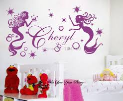aliexpress com buy unique custom wall decals infinity sign heart customer made personalised name 2 fairies wall art stickers kids baby girl vinyl decal you choose name and color
