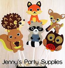 woodland creatures baby shower decorations woodland animals baby shower centerpieces forest animals party