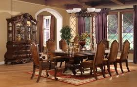 Red Dining Room Sets Beautiful Formal Dining Room Curtains Gallery Home Design Ideas