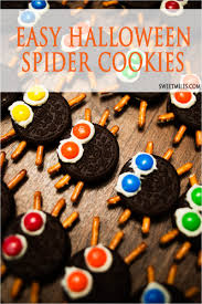 easy spider cookies for halloween