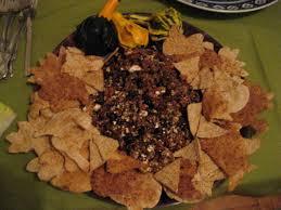 a vegetarian fall potluck on halloween night veggin u0027