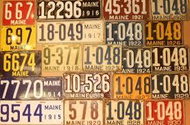 Vanity Plates Maine Auction Catalog U2013 Nadeau U0027s Auction Gallery