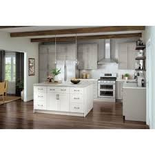arcadia white kitchen cabinets lowes now arcadia 18 in w x 35 in h x 23 75 in d white